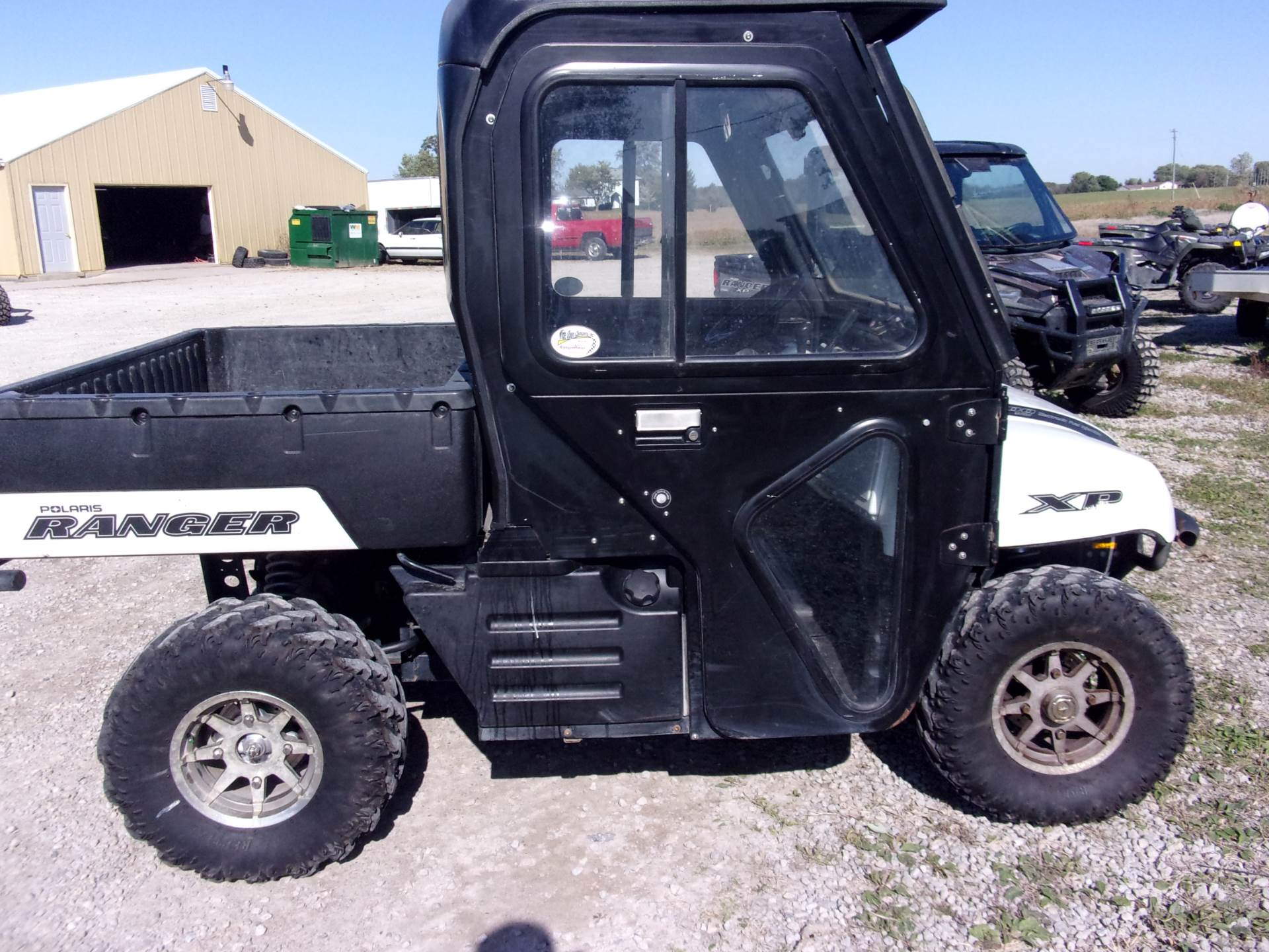 2008 Polaris Ranger XP Pearl White Limited Edition in Houston, Ohio - Photo 1