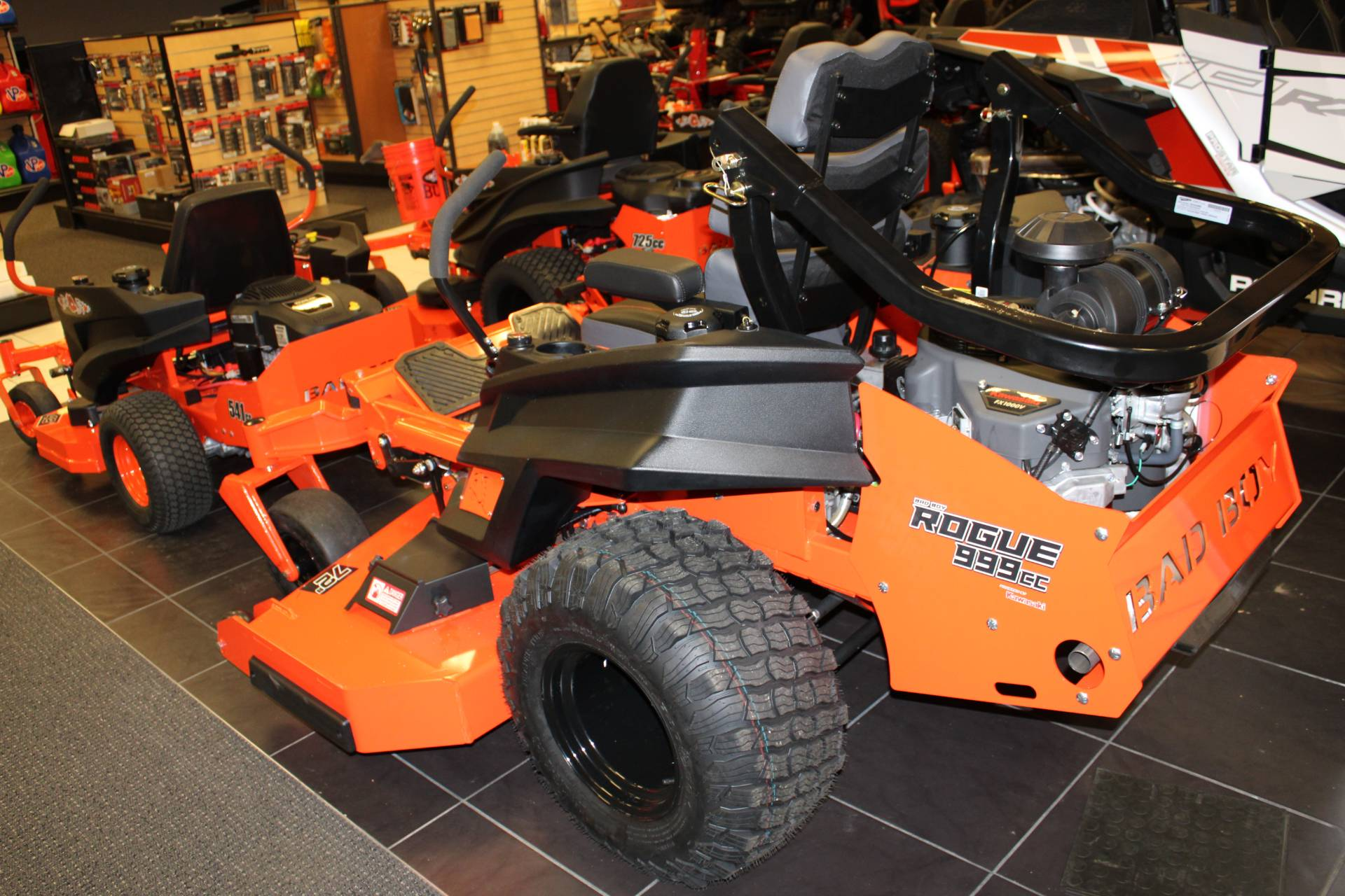 "2020 Bad Boy Mowers ROGUE 72"" 999cc KAWASAKI FX1000 35hp in Chanute, Kansas - Photo 4"