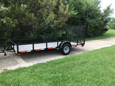 2018 LONGHORN 77x14 Tailgate in Chanute, Kansas