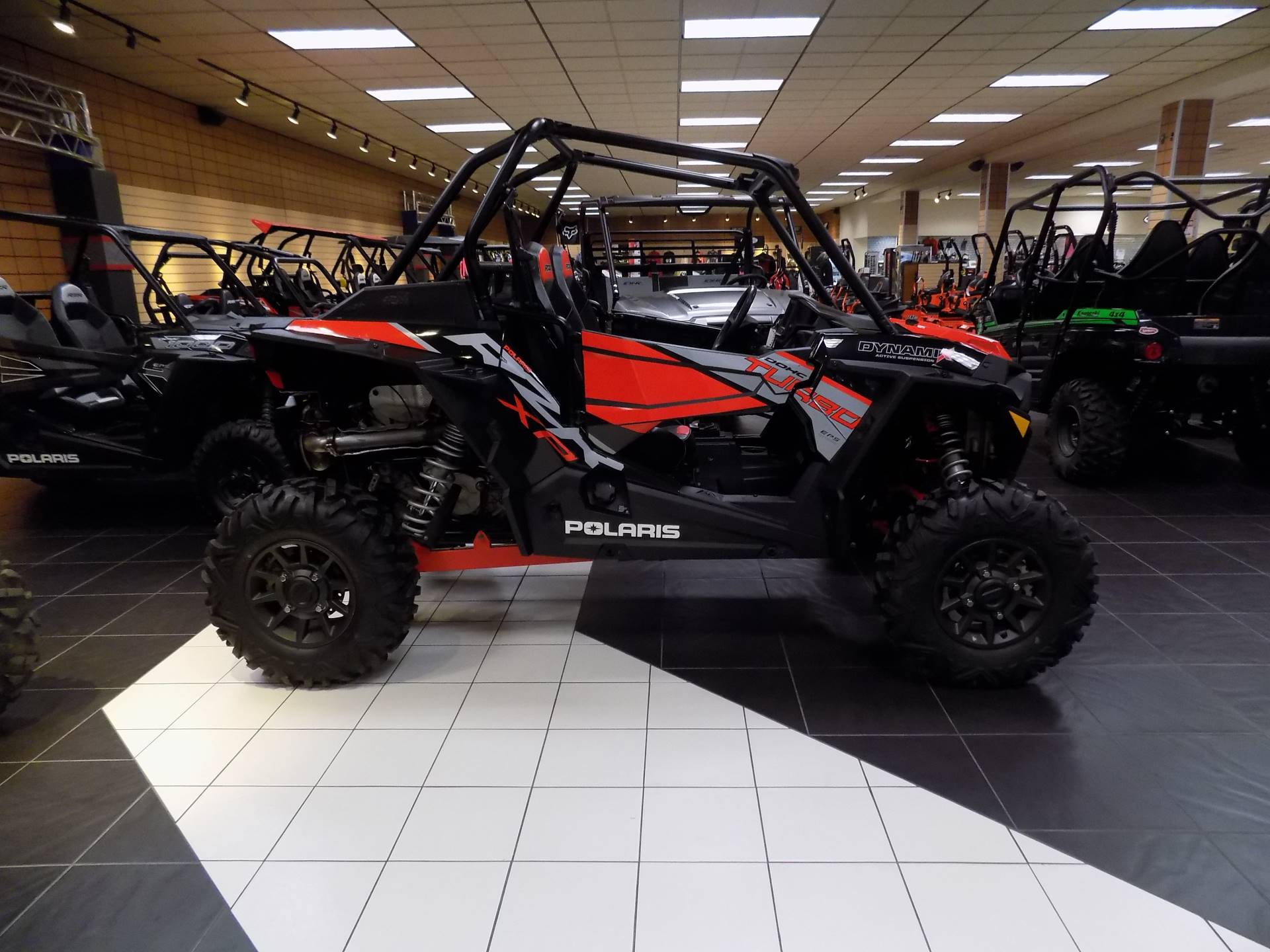 2018 RZR XP Turbo EPS Dynamix Edition