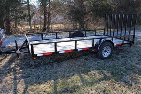 2020 LONGHORN 77x14 TAILGATE in Chanute, Kansas - Photo 1