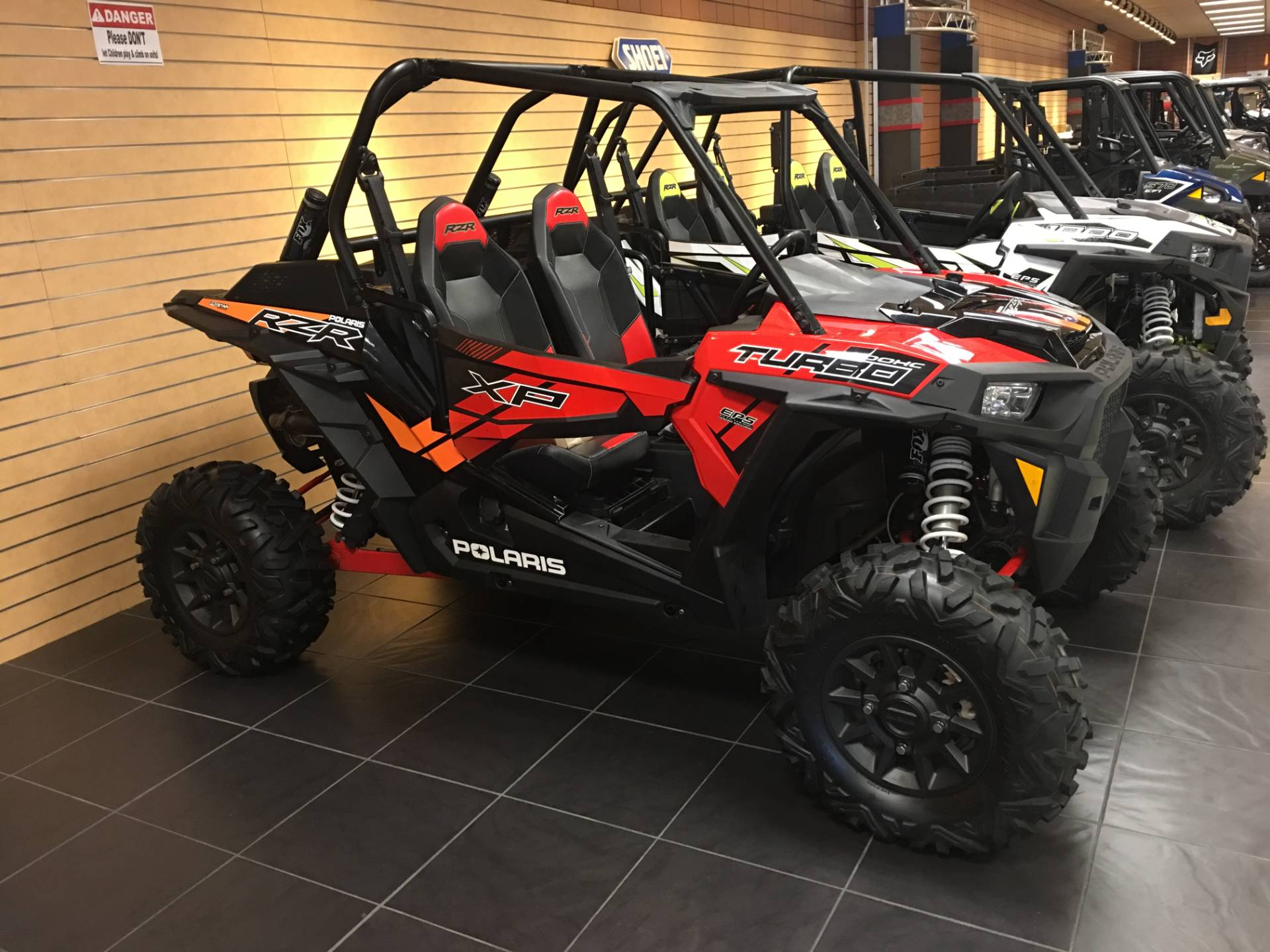 2017 Polaris RZR XP Turbo EPS in Chanute, Kansas