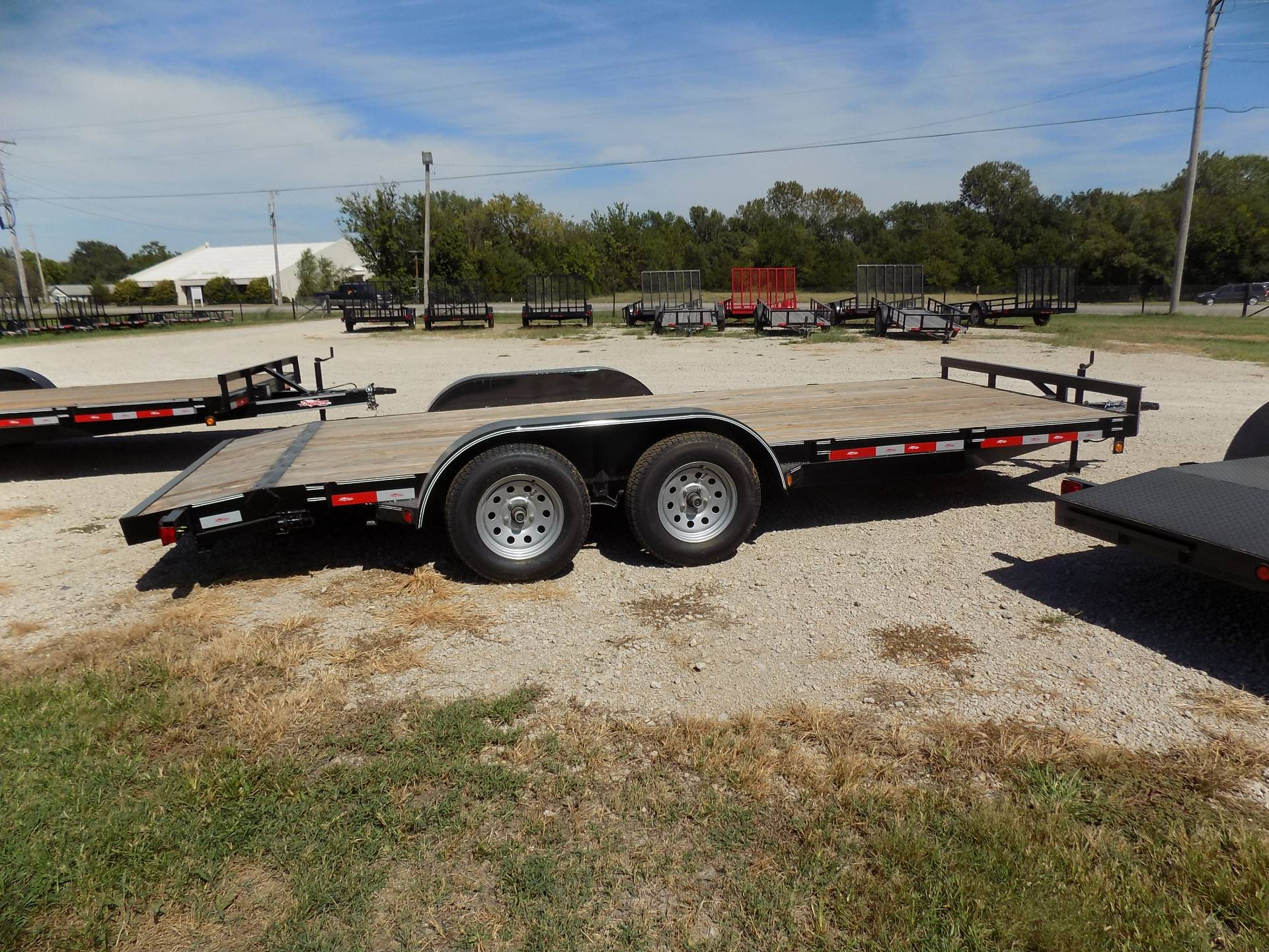 2018 Other 83x18 2' Dove Tail Car Hauler - Deluxe in Chanute, Kansas