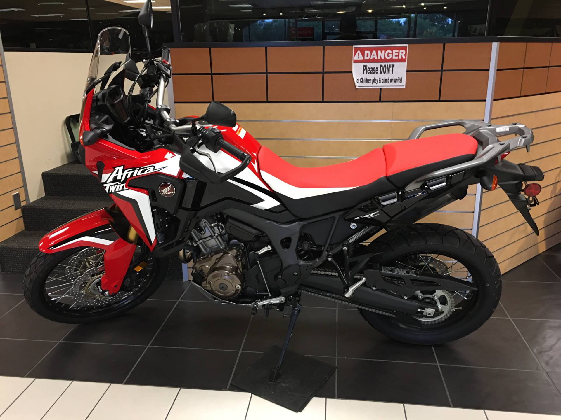 2017 Honda Africa Twin in Chanute, Kansas - Photo 1