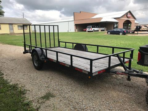 2019 LONGHORN 77x14 Tailgate in Chanute, Kansas
