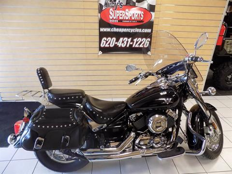 2009 Yamaha V Star 650 Silverado in Chanute, Kansas