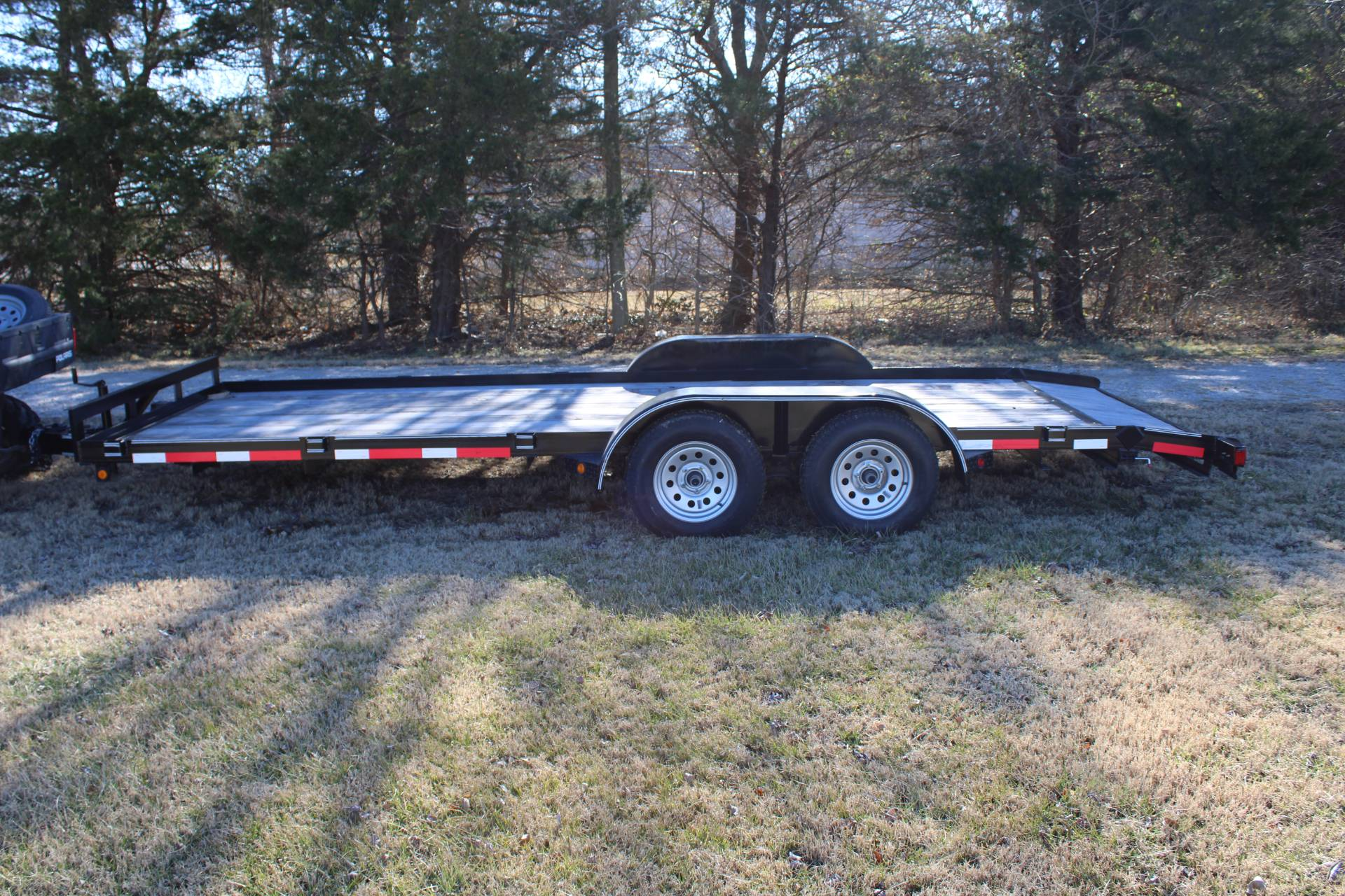 2020 LONGHORN 83x20 Car Hauler in Chanute, Kansas - Photo 1