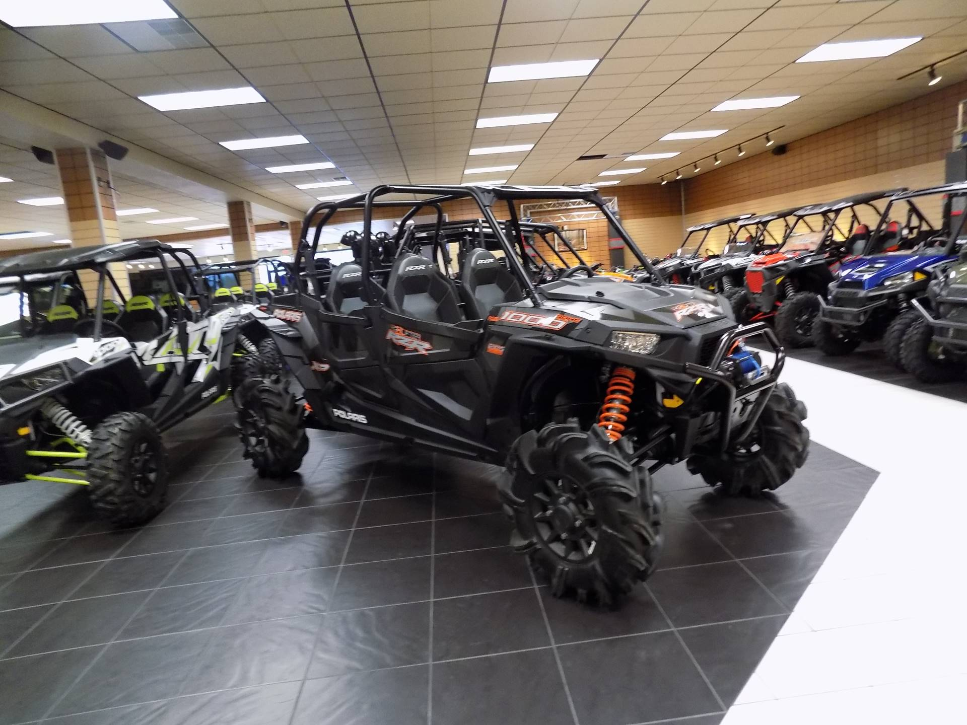 2018 RZR XP 4 1000 EPS High Lifter Edition