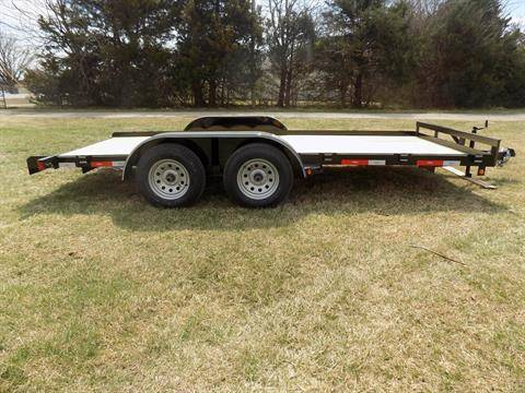 2020 LONGHORN 83X16 CAR HAULER W BRAKE in Chanute, Kansas