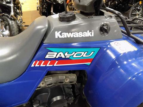 1993 Kawasaki Bayou 220 in Chanute, Kansas