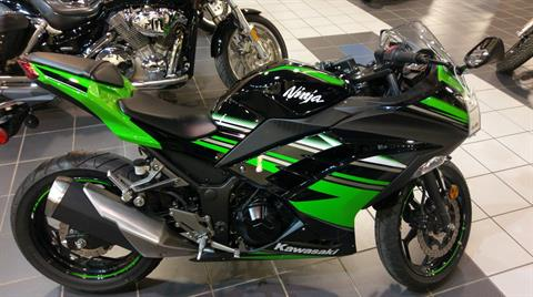 2016 Kawasaki Ninja 300 ABS KRT Edition in Dothan, Alabama