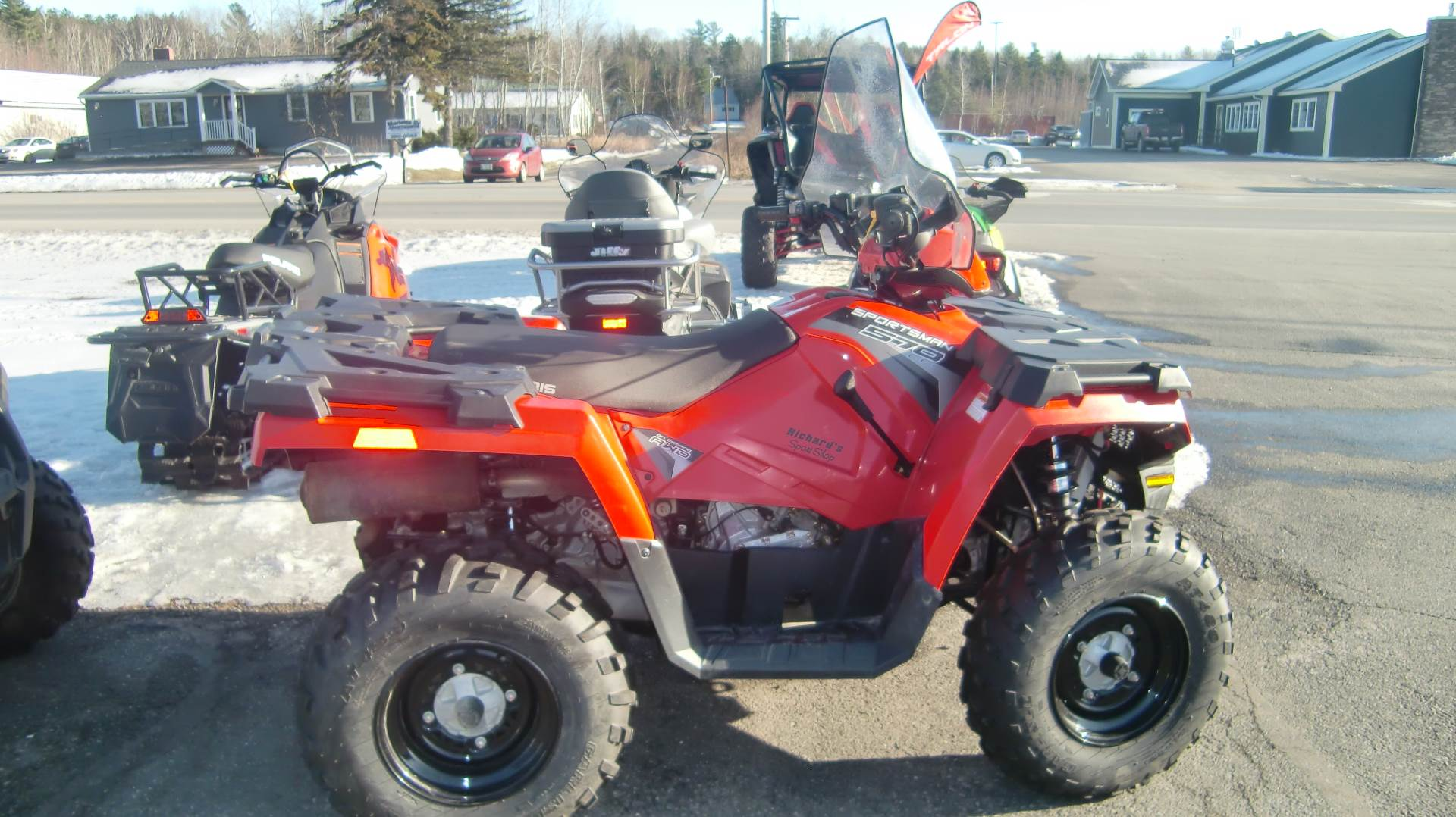 2017 Polaris SPORTSMAN 570 EPS in Lincoln, Maine - Photo 2