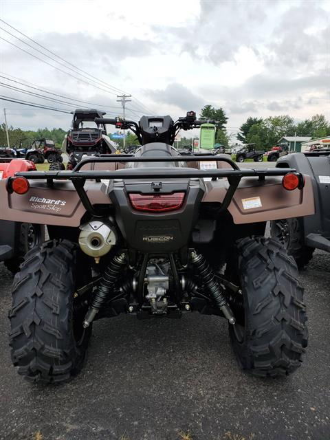 2020 Honda Foreman Rubicon DCT EPS in Lincoln, Maine - Photo 2