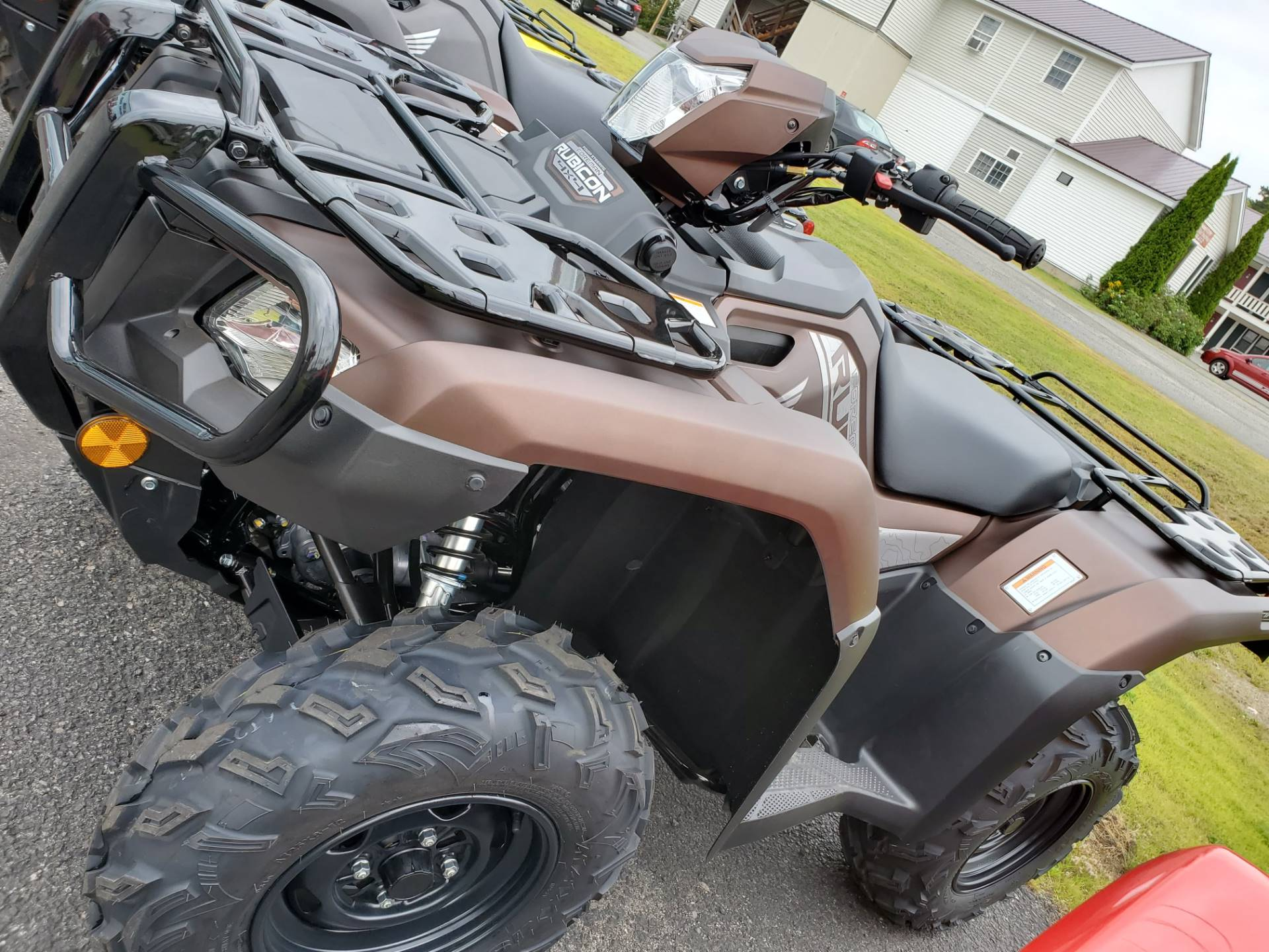 2020 Honda Foreman Rubicon DCT EPS in Lincoln, Maine - Photo 3