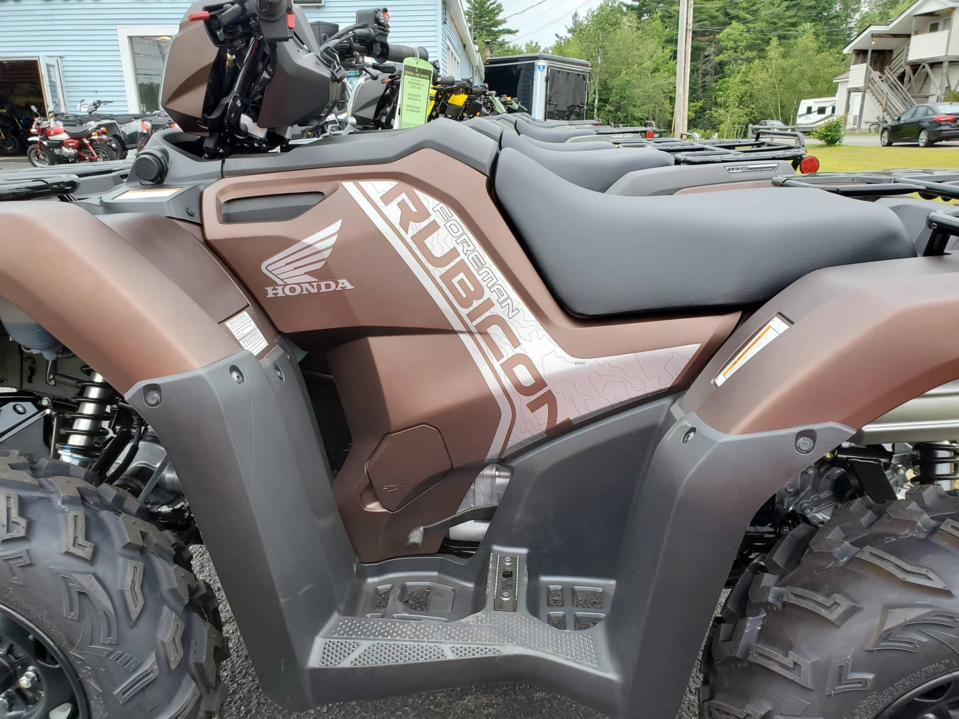 2020 Honda Foreman Rubicon DCT EPS in Lincoln, Maine - Photo 4