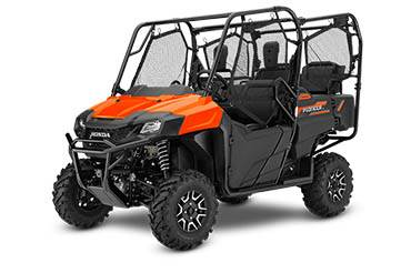 2018 Honda Pioneer 700-4 Deluxe in Lincoln, Maine