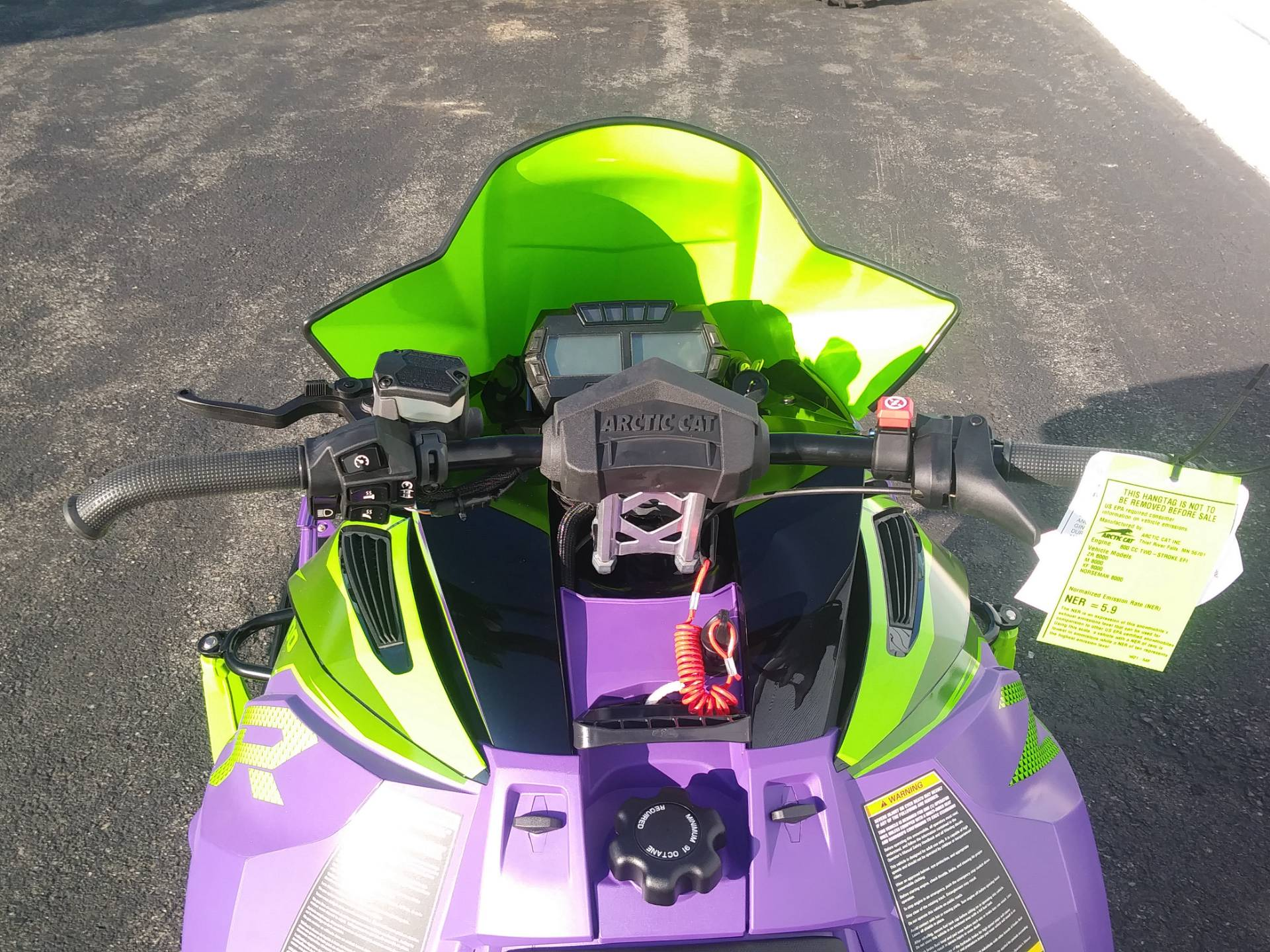 2019 Arctic Cat ZR8000 Limited 137 iACT in Lincoln, Maine