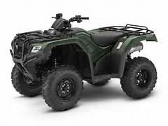 2017 Honda RANCHER 4x4 in Lincoln, Maine