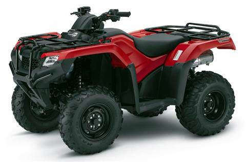 2017 Honda RANCHER 4x4 SWINGARM in Lincoln, Maine - Photo 1
