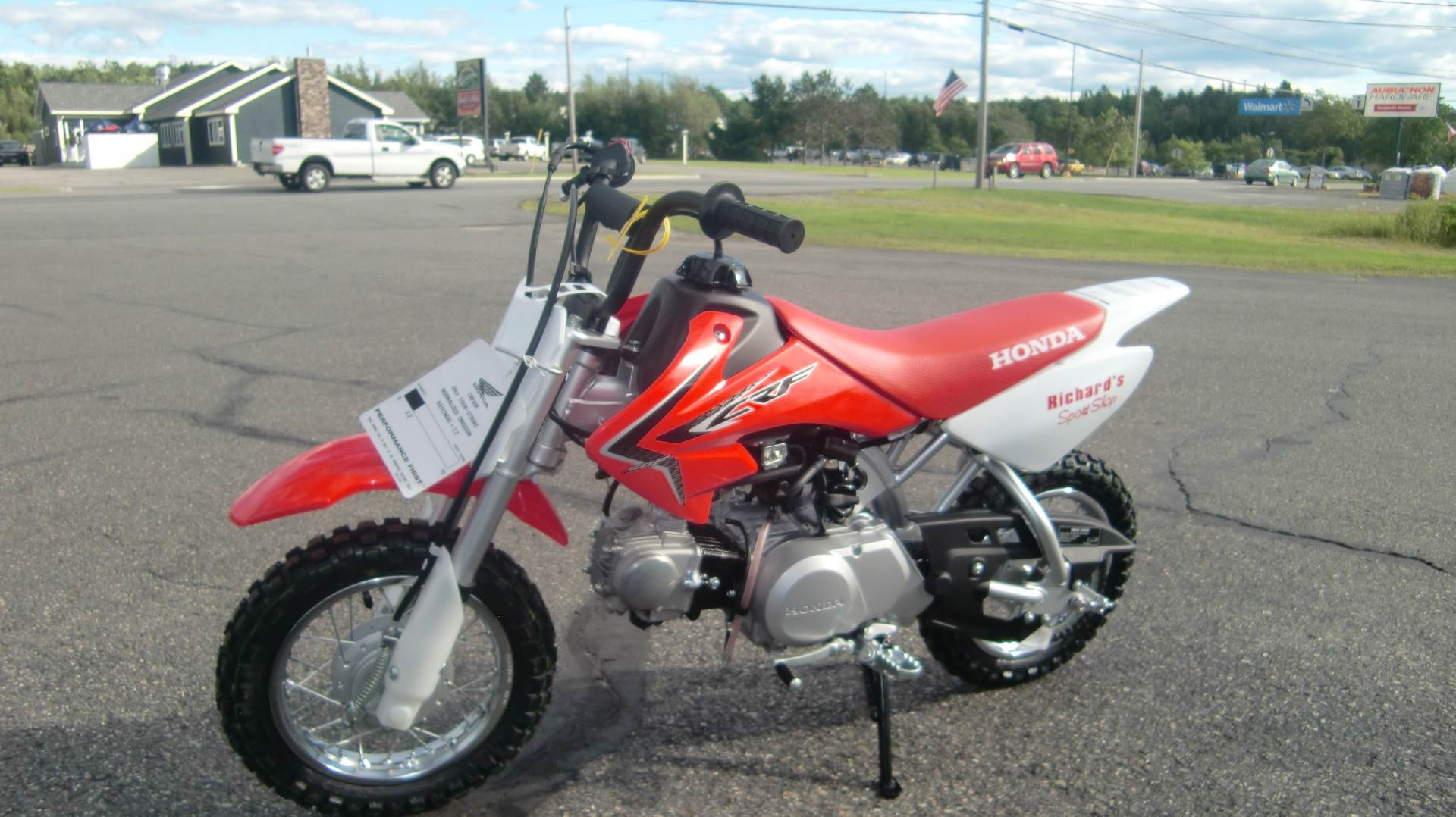 2021 Honda CRF50F in Lincoln, Maine