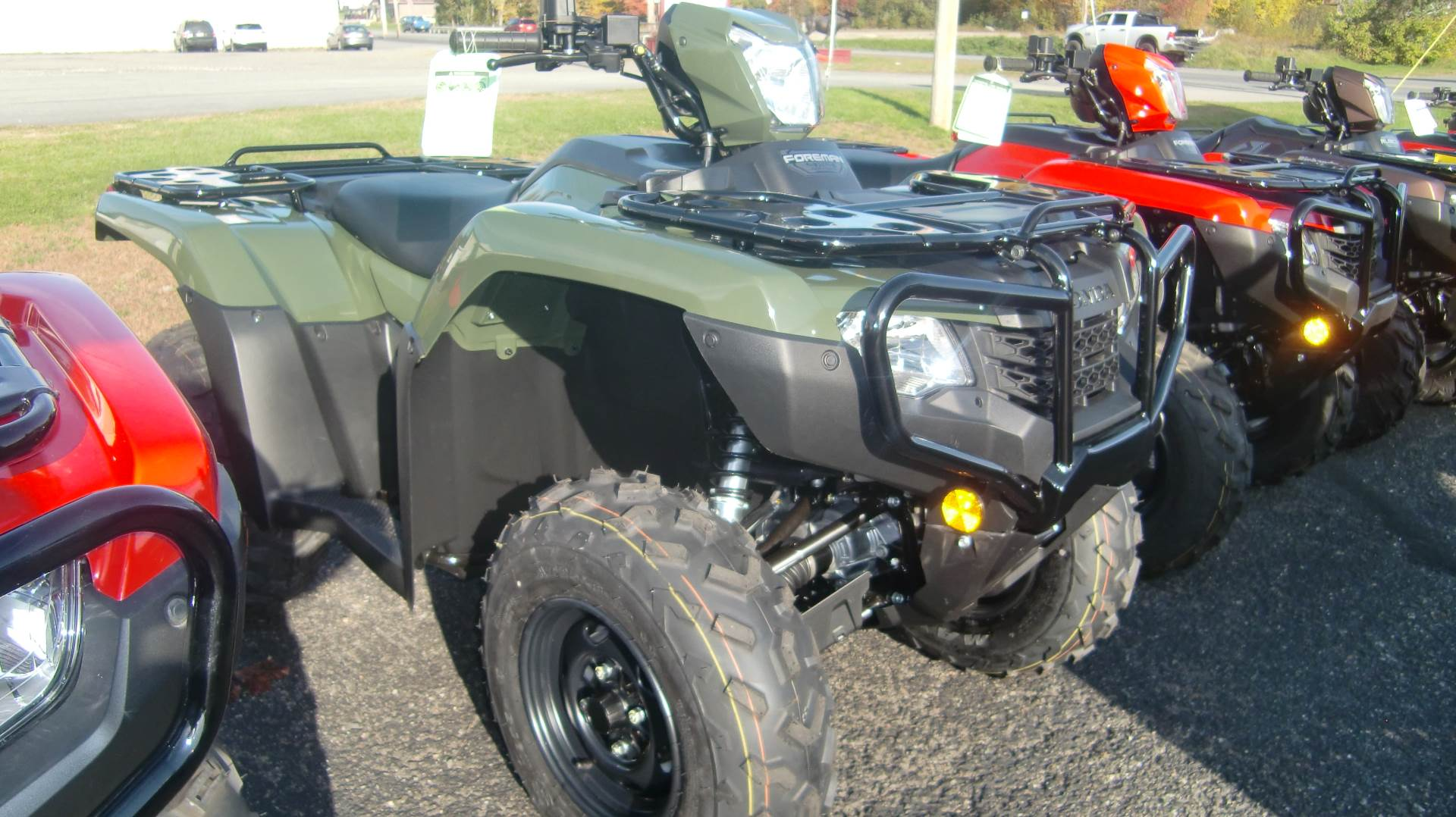 2020 Honda FOREMAN 4x4 EPS in Lincoln, Maine - Photo 1