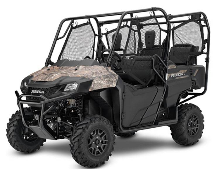 2019 Honda Pioneer 700-4 Deluxe in Lincoln, Maine