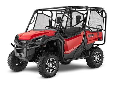 2020 Honda PIONEER 700-4 DELUXE in Lincoln, Maine