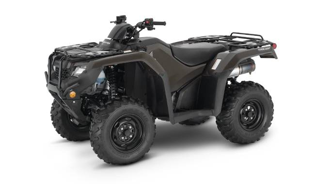 2020 Honda TRX420FA6L RANCHER 4X4 AT EPS IRS in Lincoln, Maine - Photo 1