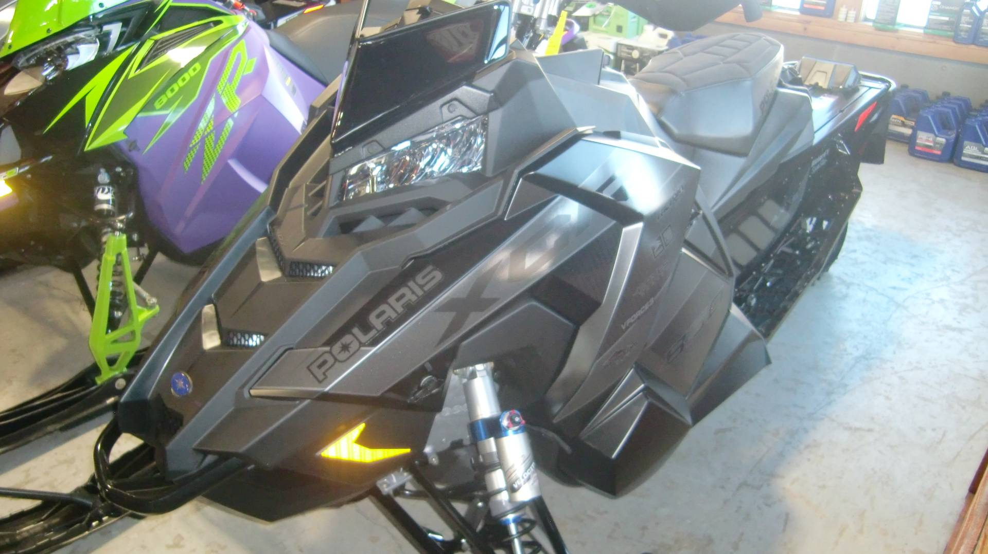 2021 Polaris INDY XCR 850 129 in Lincoln, Maine - Photo 2