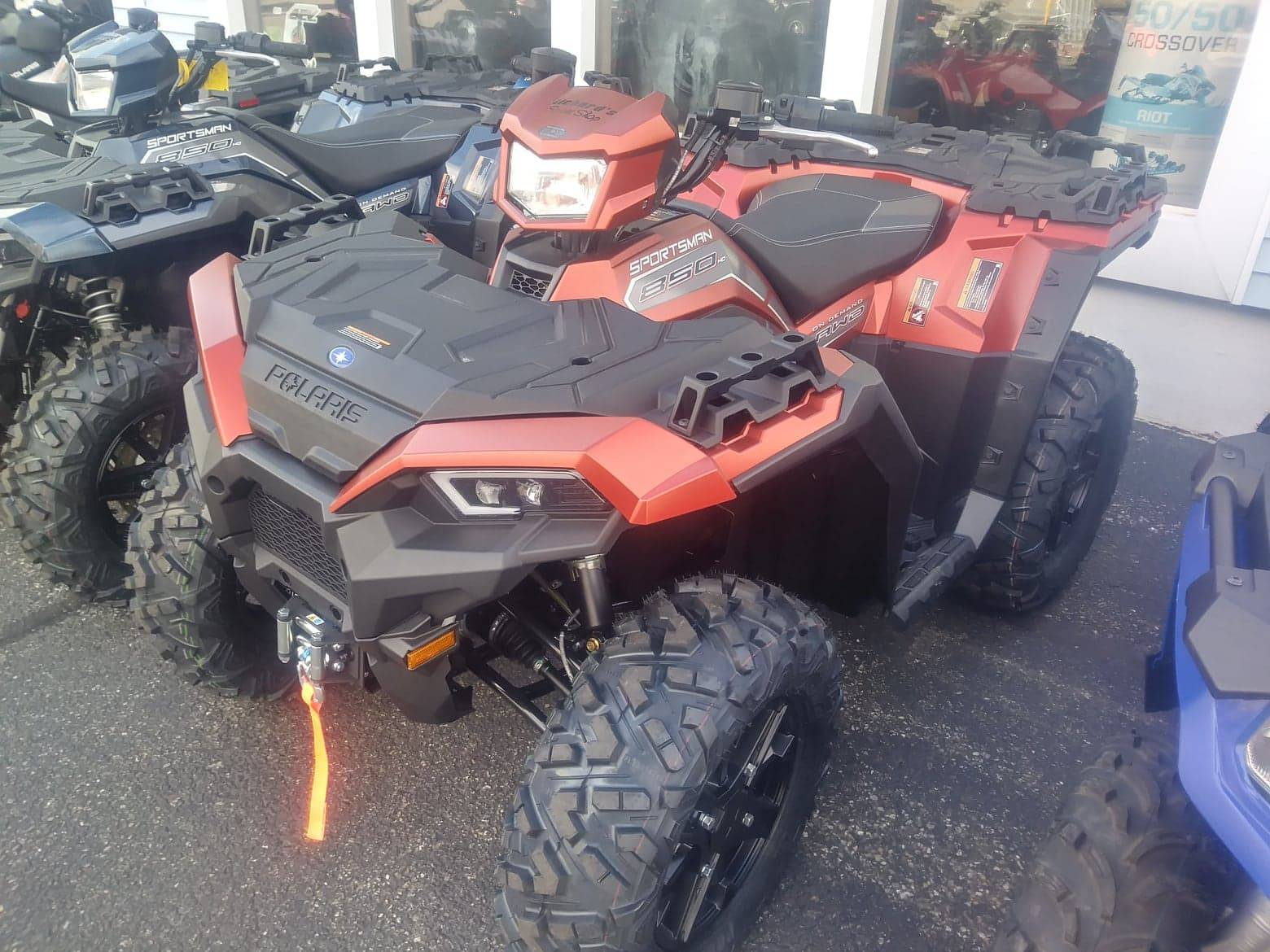 2020 Polaris SPORTSMAN 850 PREMIUM TRAIL PACKAGE in Lincoln, Maine