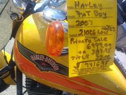 2007 Harley Davidson Fat Boy in Lincoln, Maine - Photo 2