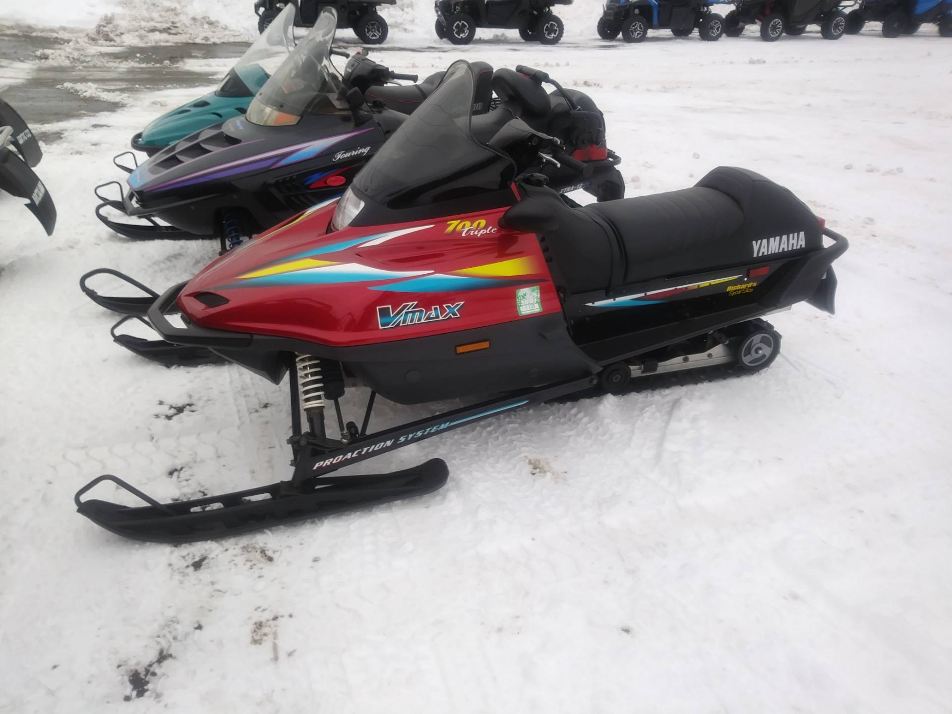 1999 Yamaha Vx700 deluxe in Lincoln, Maine