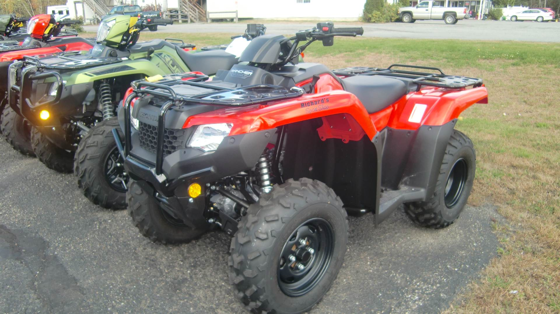 2020 Honda RANCHER 420 4x4 AT EPS in Lincoln, Maine - Photo 2
