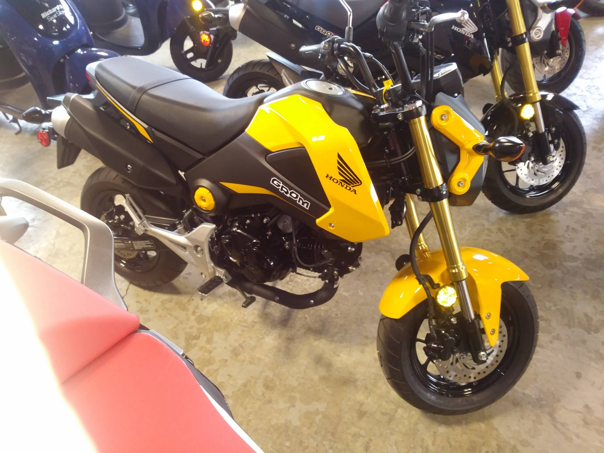 2015 Honda Grom 125 in Lincoln, Maine