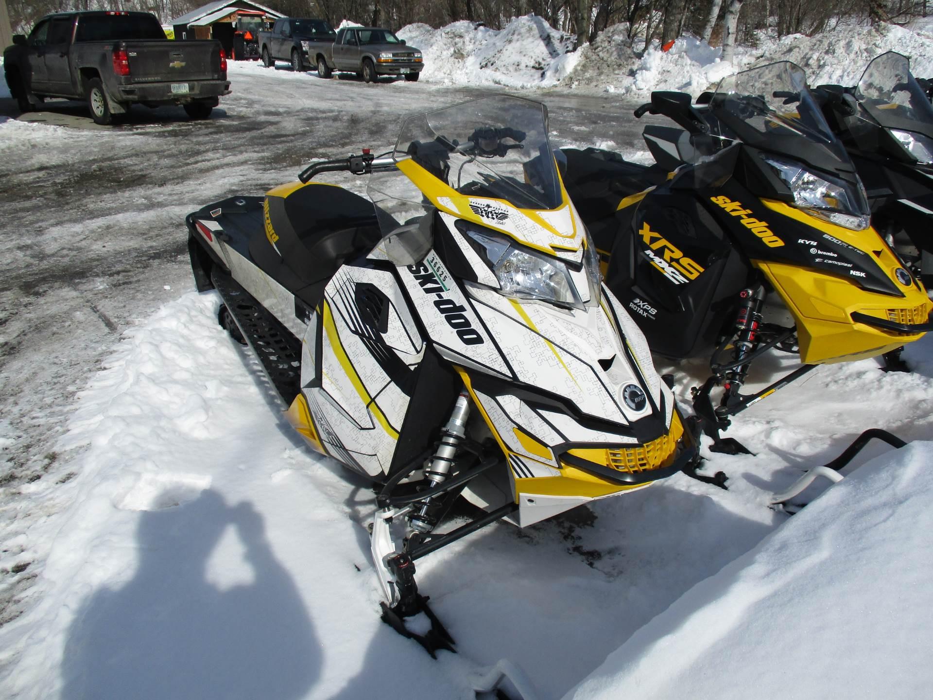 2016 Ski Doo Mx Z Blizzard 600 H O E Tec S In Colebrook