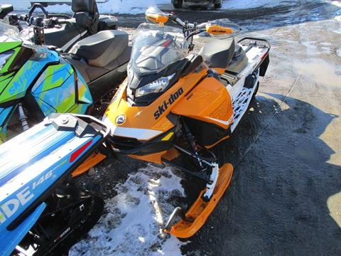 2017 Ski-Doo Renegade X 850 E-TEC E.S. w/Adj. pkg. Ice Ripper XT in Colebrook, New Hampshire