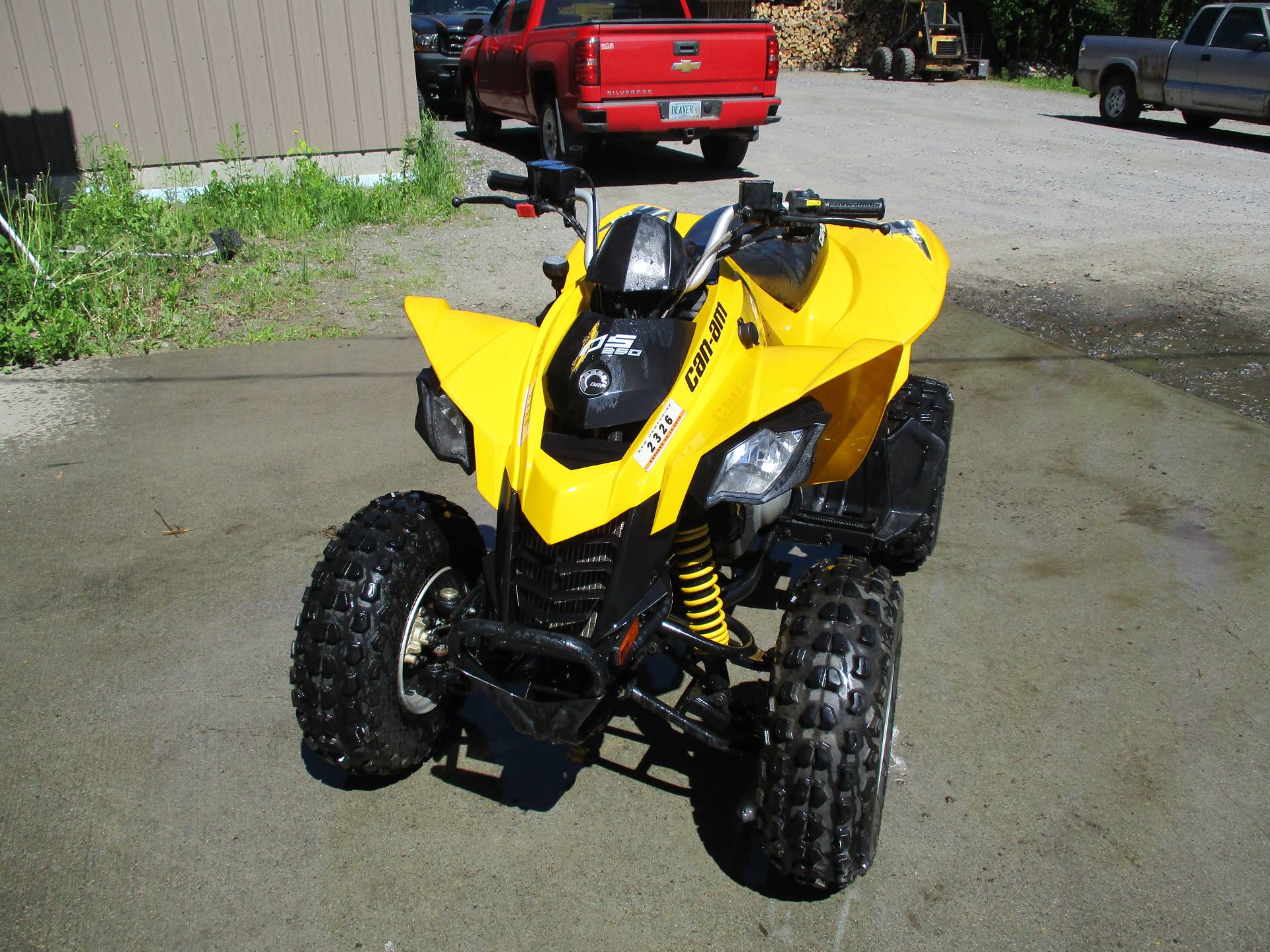 Used 2015 Can-Am DS 250® ATVs in Colebrook, NH | Stock Number: CAN020238
