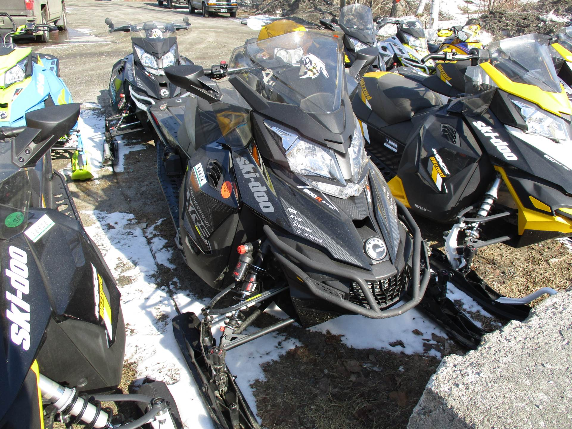 "2016 Ski-Doo Renegade X-RS 800R E-TEC ES w/ Adj. pkg, Ice Cobra 1.6"" in Colebrook, New Hampshire"