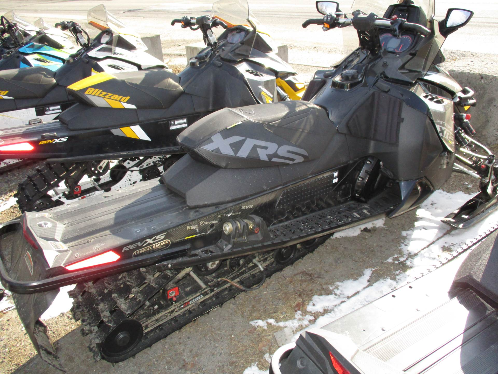 "2016 Ski-Doo Renegade X-RS 800R E-TEC ES w/ Adj. pkg, Ice Cobra 1.6"" in Colebrook, New Hampshire - Photo 2"