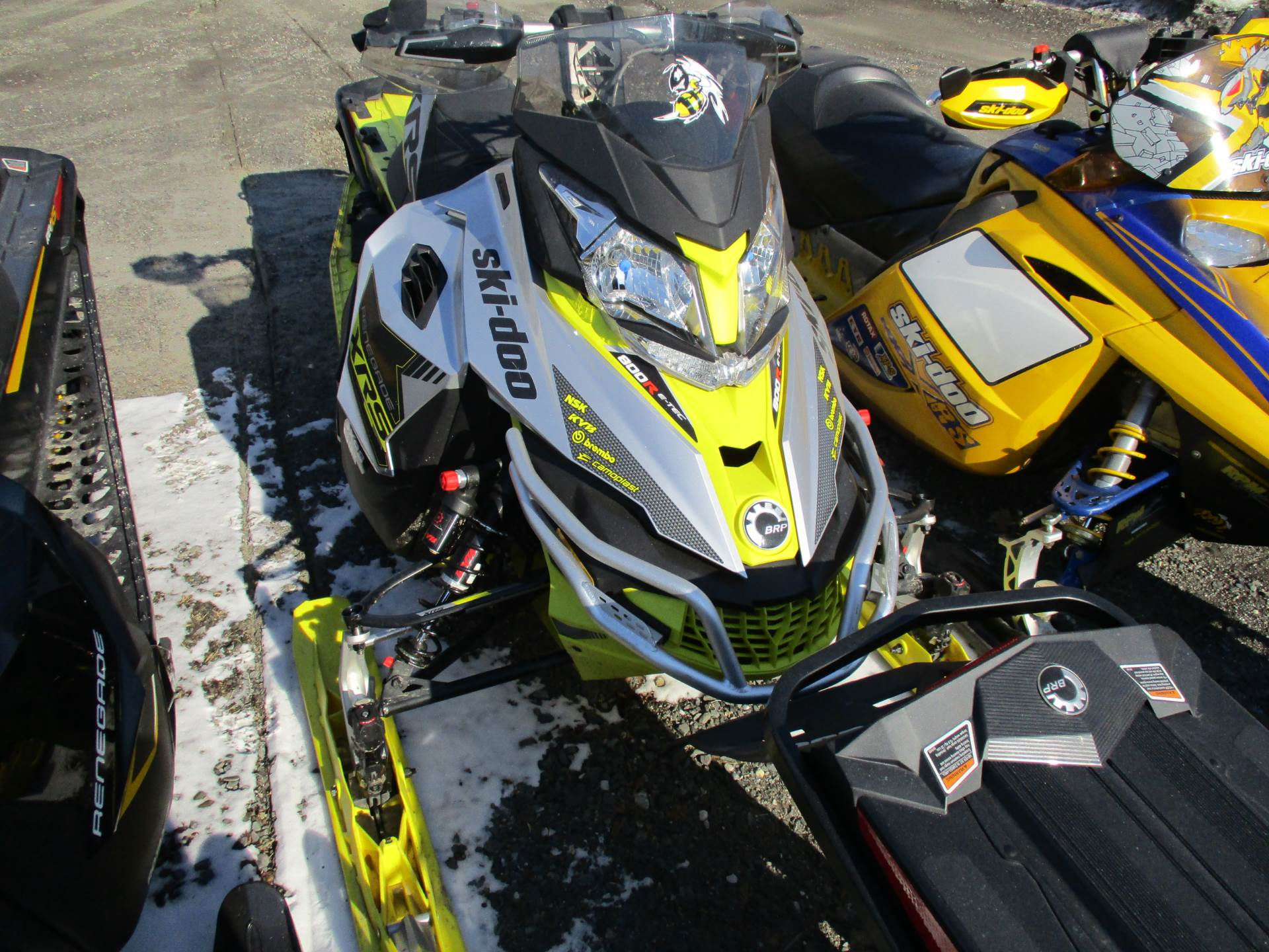 "2016 Ski-Doo Renegade X-RS 800R E-TEC E.S. w/ Adj. pkg, Ice Cobra 1.6"" in Colebrook, New Hampshire - Photo 1"