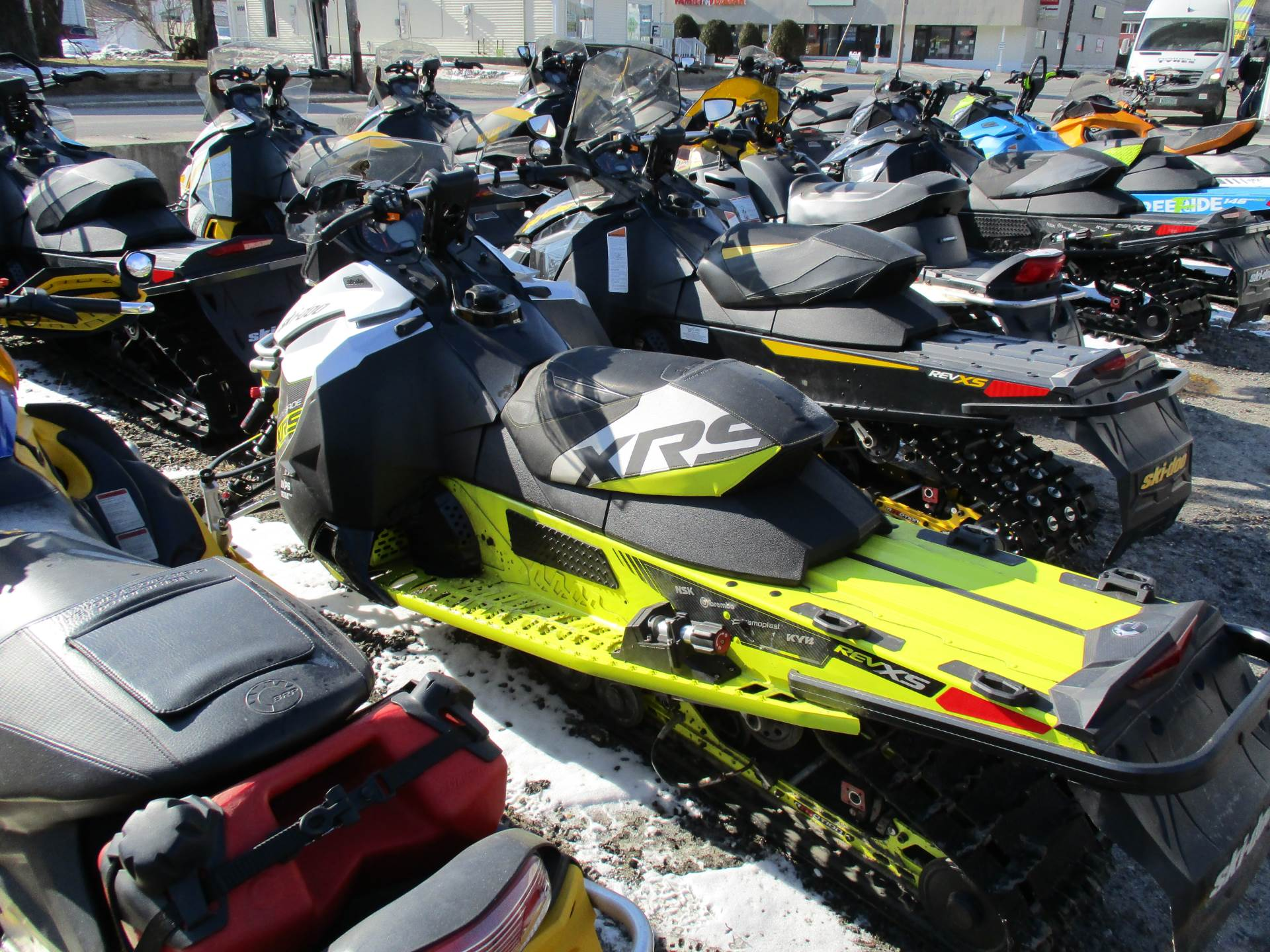 "2016 Ski-Doo Renegade X-RS 800R E-TEC E.S. w/ Adj. pkg, Ice Cobra 1.6"" in Colebrook, New Hampshire - Photo 4"
