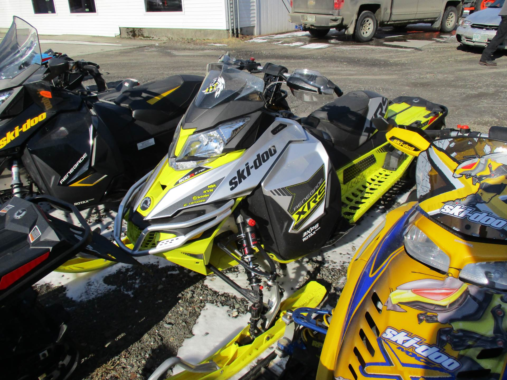 "2016 Ski-Doo Renegade X-RS 800R E-TEC E.S. w/ Adj. pkg, Ice Cobra 1.6"" in Colebrook, New Hampshire - Photo 5"