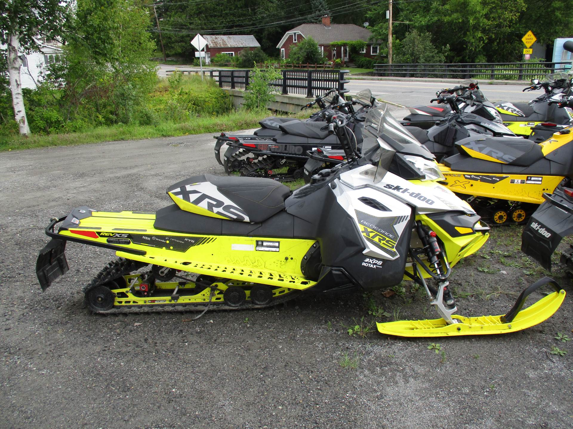 "2016 Ski-Doo Renegade X-RS 800R E-TEC E.S., Ice Cobra 1.6"" in Colebrook, New Hampshire - Photo 2"