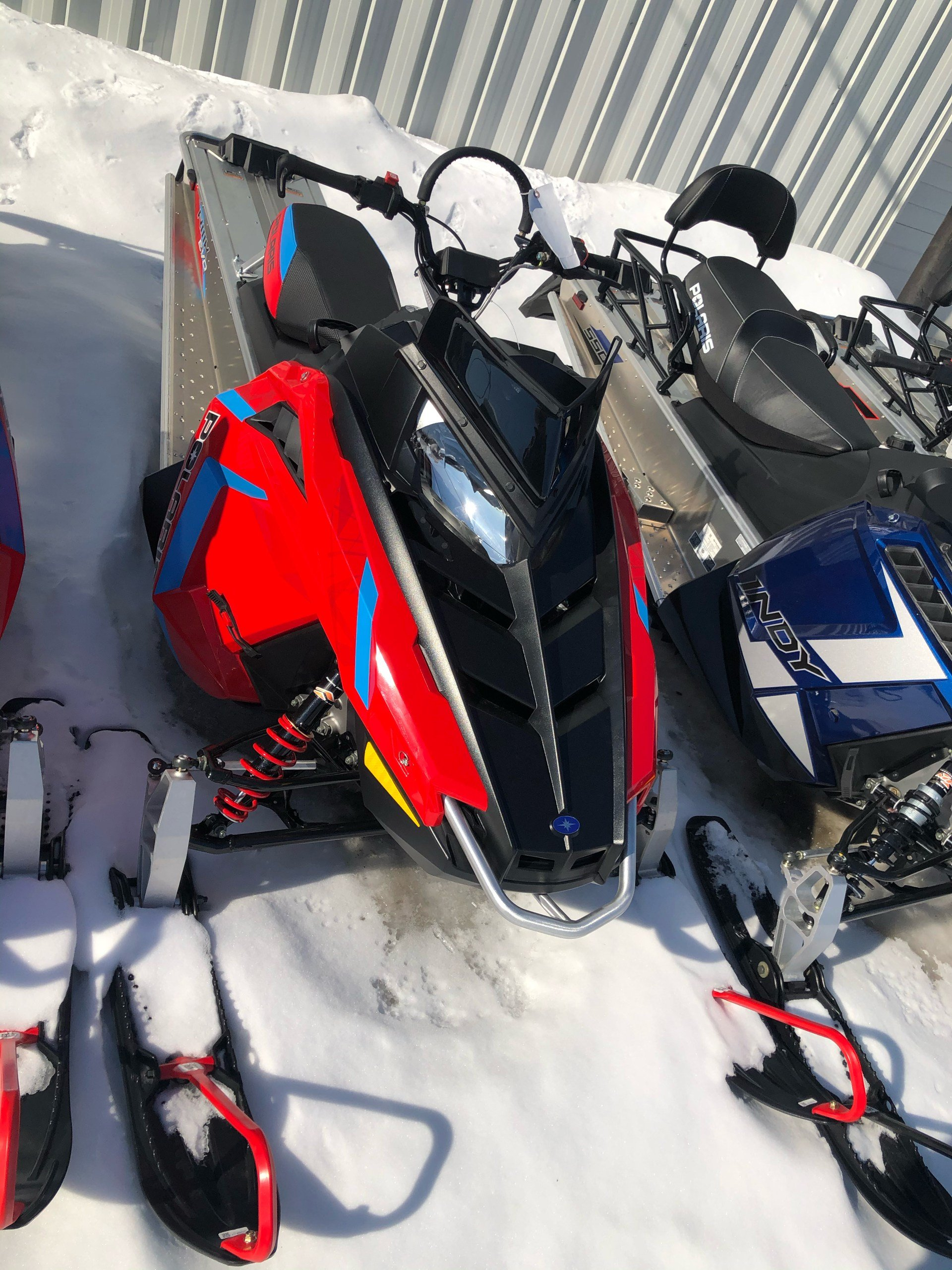 2020 Polaris 550 RMK EVO 144 ES in Fairbanks, Alaska - Photo 1