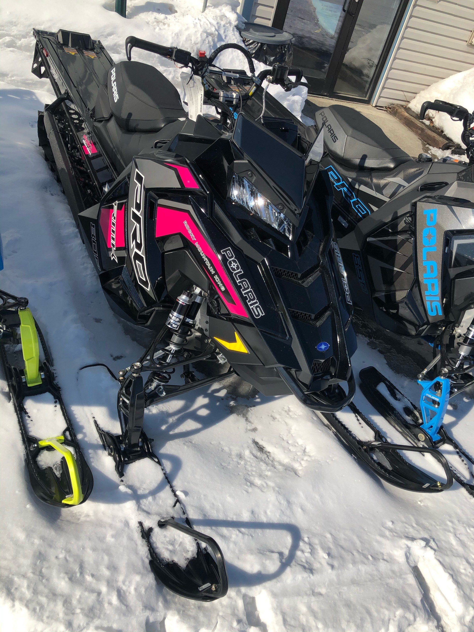 2019 Polaris 800 PRO-RMK 155 SnowCheck Select in Fairbanks, Alaska - Photo 1