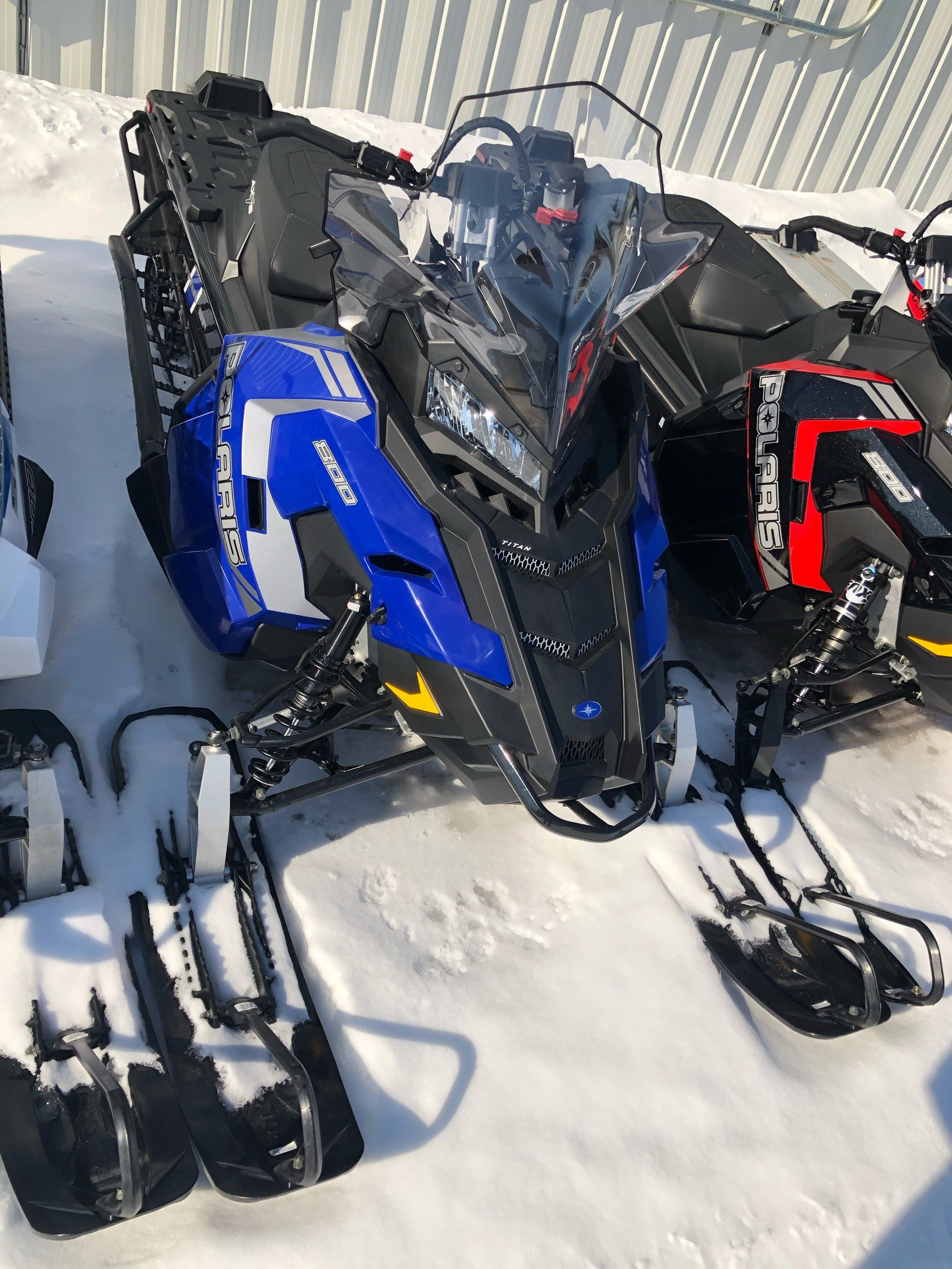 2019 Polaris 800 Titan SP 155 ES in Fairbanks, Alaska - Photo 1