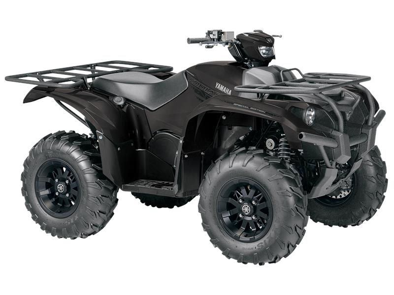 2016 Yamaha Kodiak 700 EPS SE Matte Black in Pataskala, Ohio