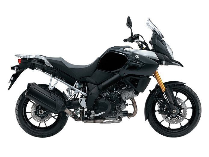 2016 Suzuki V-Strom 1000 ABS Black in Pataskala, Ohio