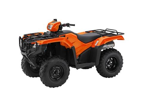 2016 Honda TRX500 Foreman Orange in Pataskala, Ohio