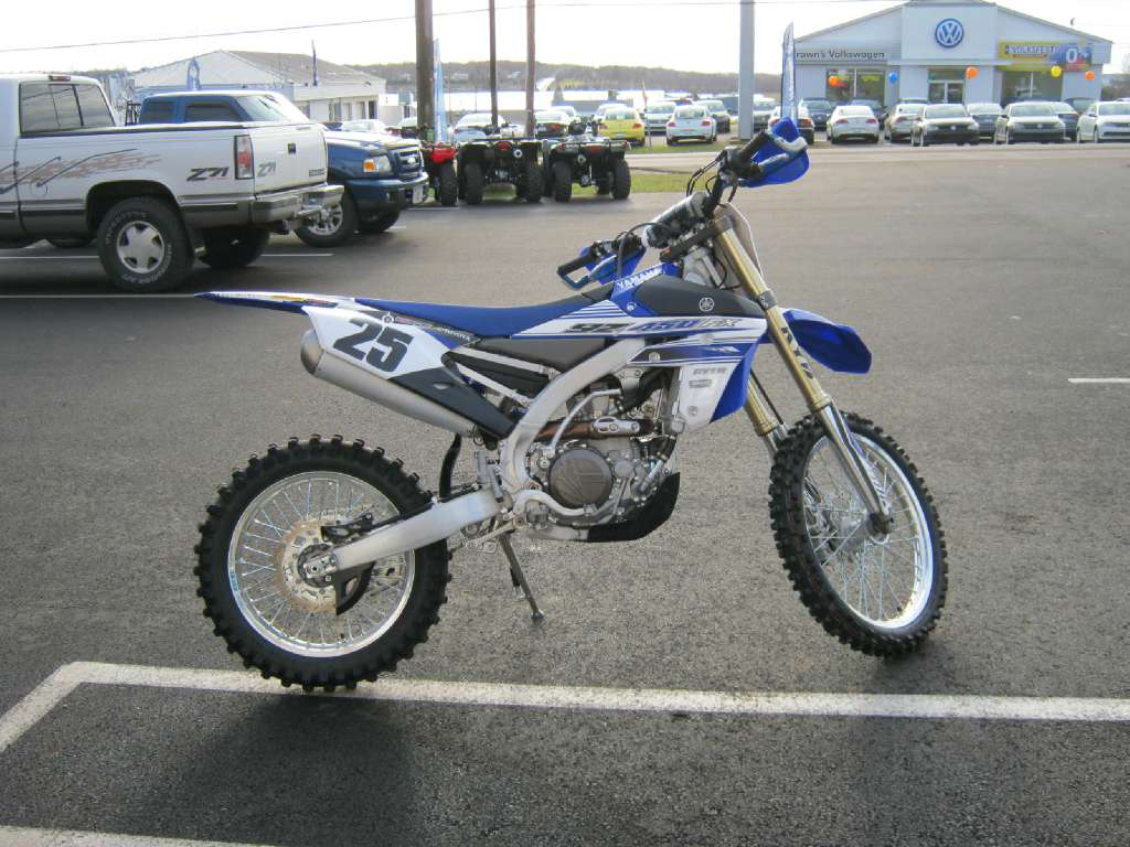 2016 Yamaha YZ450FX in Pataskala, Ohio